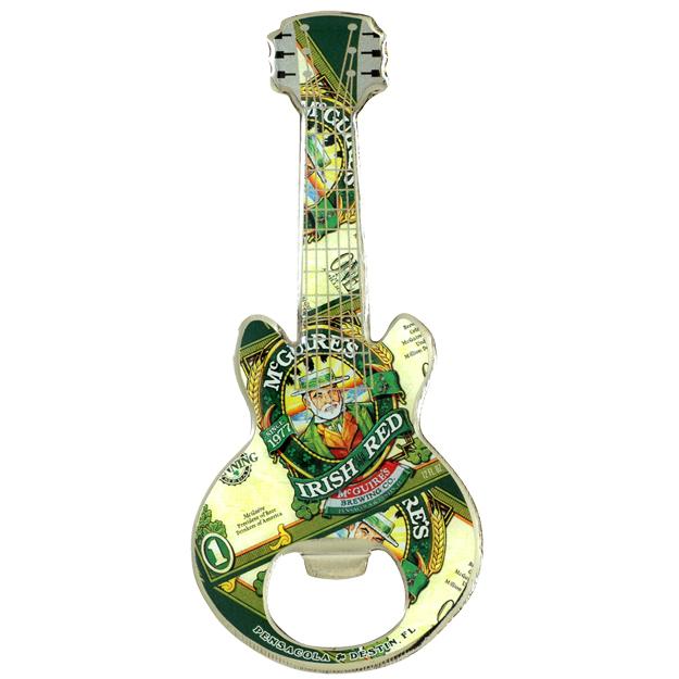 guitar shape bottle opener magnet pinnacle designs. Black Bedroom Furniture Sets. Home Design Ideas