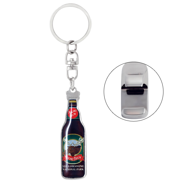 mini bottle shape bottle opener keychain pinnacle designs. Black Bedroom Furniture Sets. Home Design Ideas